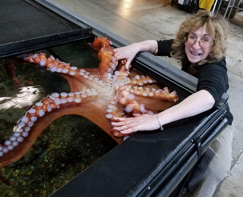 Sy and Cleo at Oregon Coast Aquarium